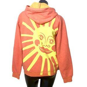Psychedelic Sun Celestial Hoodie Marushka